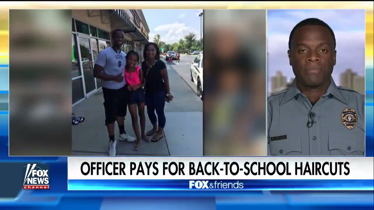 Officer Pays For Back-to-School Supplies, Haircuts for Kids https://t.co/f3aepa9C6F https://t.co/33lpLWwifw