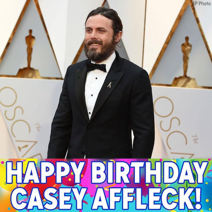 Happy Birthday to Oscar-winning actor Casey Affleck!