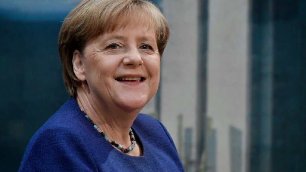 Merkel embarks on Germany's 'strangest' campaign