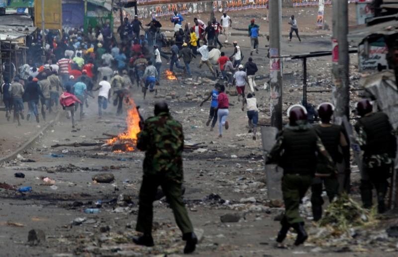 Eleven dead as post-election unrest erupts in Kenya