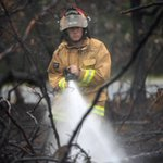 Fire fighter filmed starting blaze in northern Italy