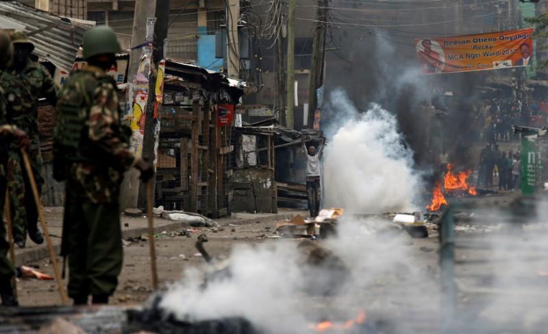 Kenya opposition accuses police of killing 100