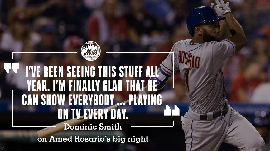 It's @Amed_Rosario's time to shine. https://t.co/jBkhJ6IGGv https://t.co/PhrJsDjuXa