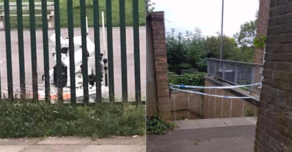 Bomb squad swoops on a primary school and detonate three suspicious packages found in Luton