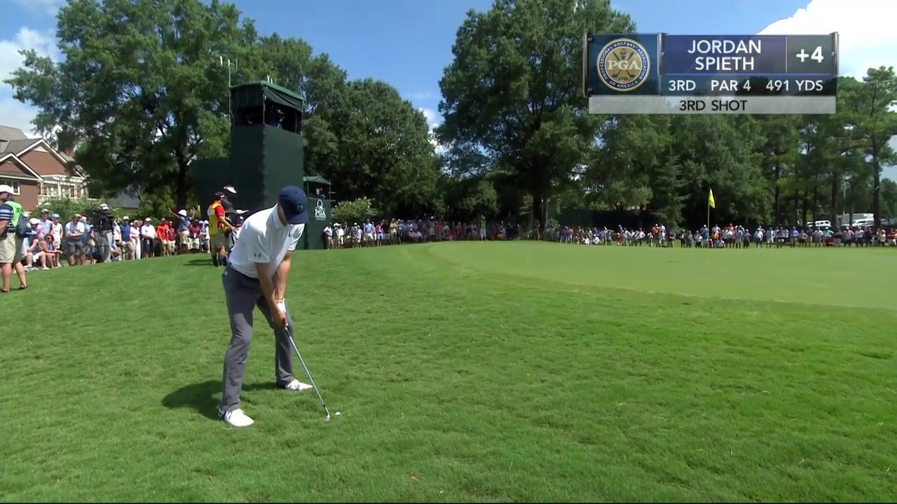 Unless you're @JordanSpieth... Don't try this at home  https://t.co/fPLqB4E66P