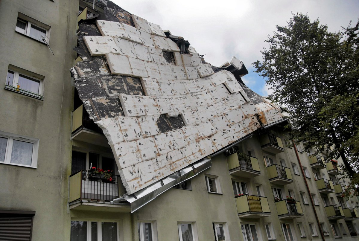 Two teen campers among five dead as storms ravage Poland