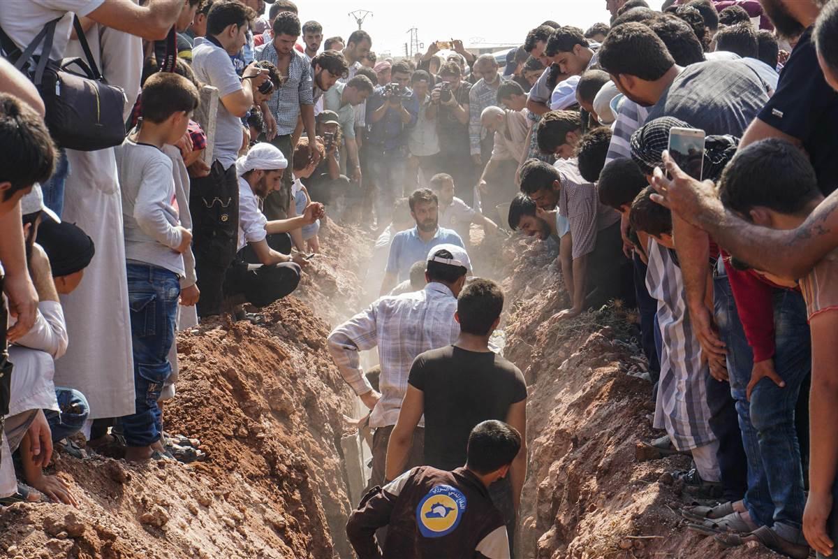 7 White Helmets medics killed in Syria
