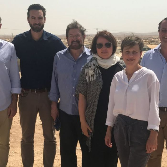 Six Australian politicians, one bus and a few tears in the shadow of the Syrian war