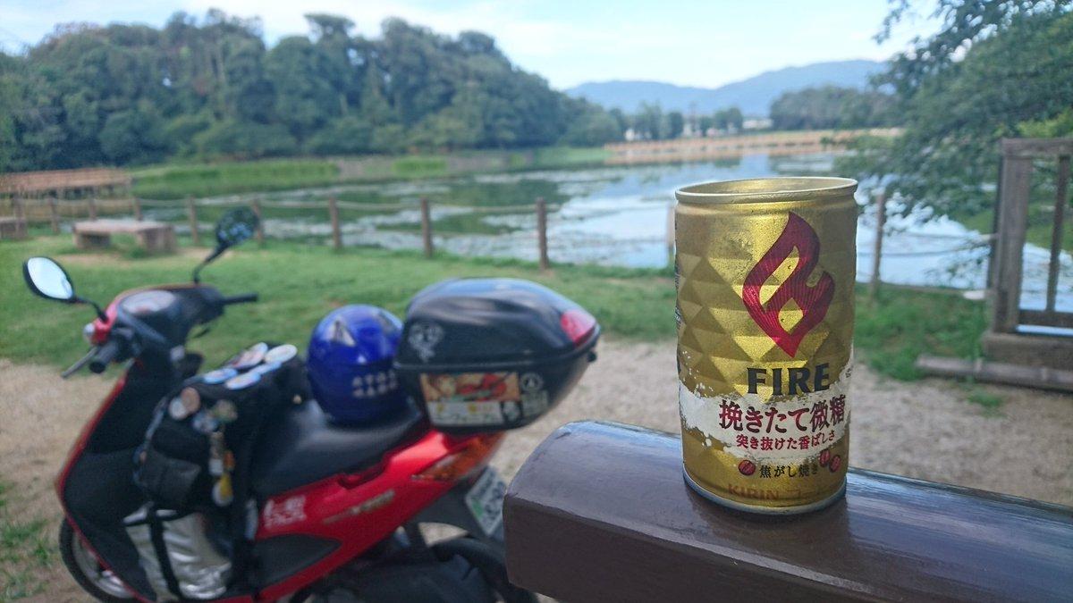 サンドさんがあくまで深田池でサFIRE#飲もうよユーフォニアム #境界の彼方