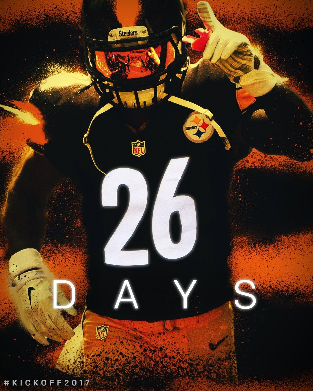 In 26 days...  ������ returns! #Kickoff2017 https://t.co/TATSM0nWGX