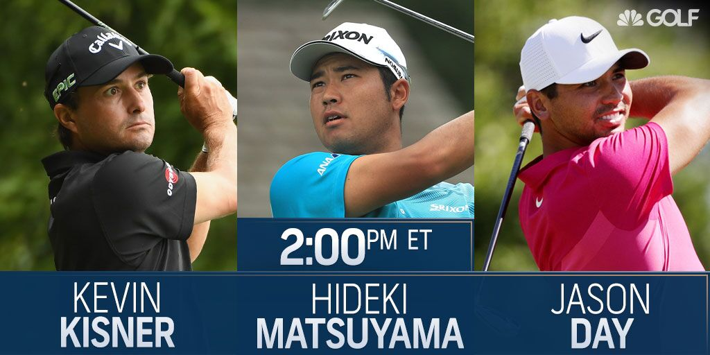 The final group is now on the tee: @K_Kisner, Hideki Matsuyama, @JDayGolf  #PGAChamp Scores: https://t.co/WlPYmaqgSx https://t.co/JK6KDq0NzD