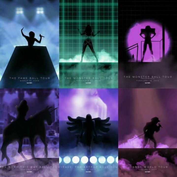 Whoever made this compilation of all my opening silhouette from all my tours. WOW!!! ��������#joanneworldtour https://t.co/YL2hPIkma7