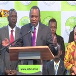 Uhuru Kenyatta re-elected for the Sec term as the President