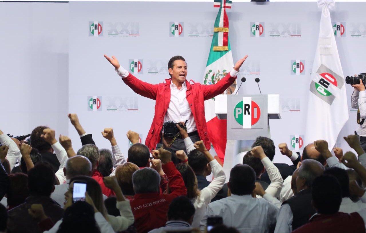 '#México gana cuando gana el @PRI_Nacional'.- @EPN en la #XXIIAsambleaPRI #TuVozPRImero https://t.co/iwqNJKae6Y