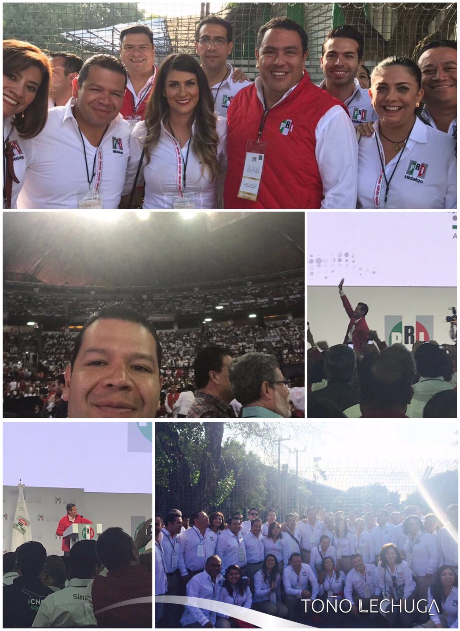 Presente en la #XXIIAsambleaNacional  del @PRI_Nacional con nuestro Presidente @EPN #TuVozPrimero https://t.co/8MsrjzOFDq