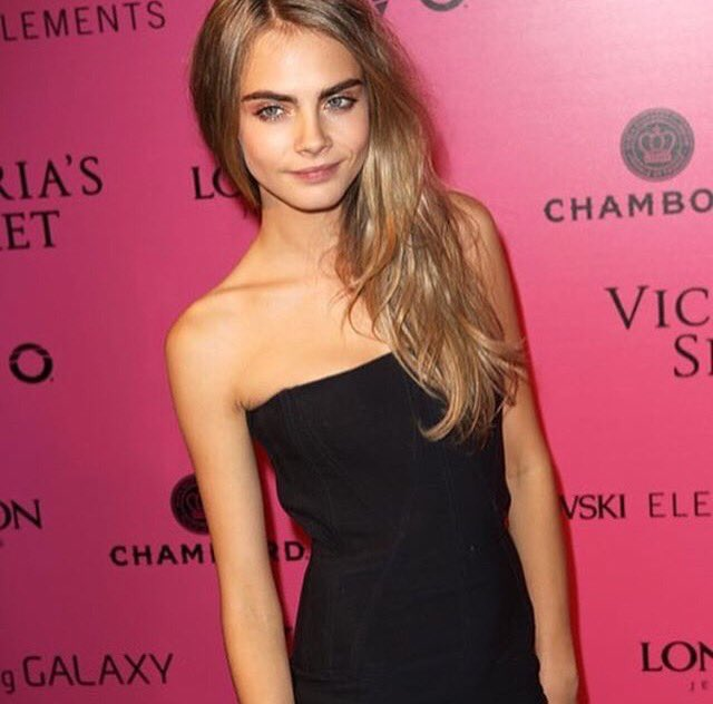 Happy 25 Birthday to this beautiful inspiration , my Beautiful Queen Cara Delevingne
