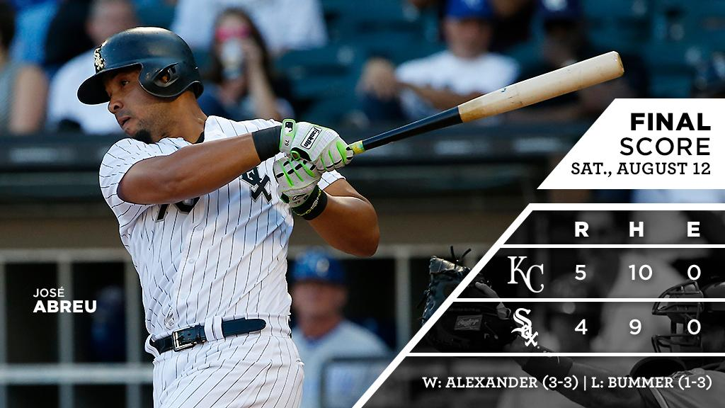 José Abreu homers twice in back-and-forth battle with the #Royals.  RECAP: https://t.co/hync595Zry https://t.co/6L6RVZkdHg
