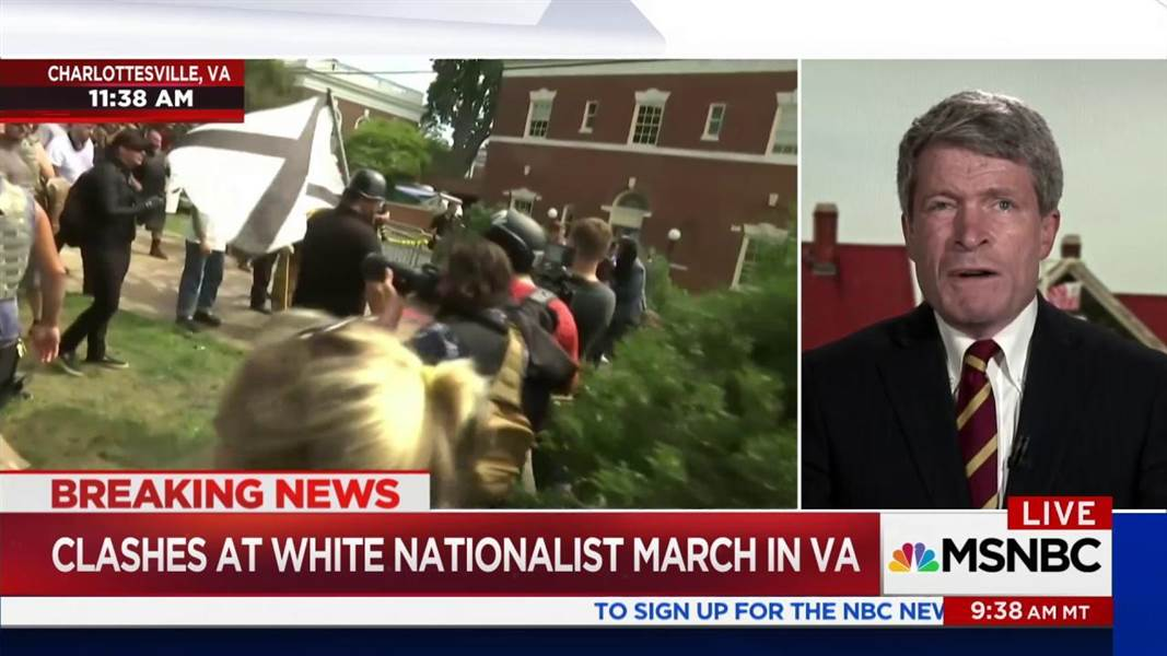 Richard Painter 'This is the face of Fascism in the U.S.'