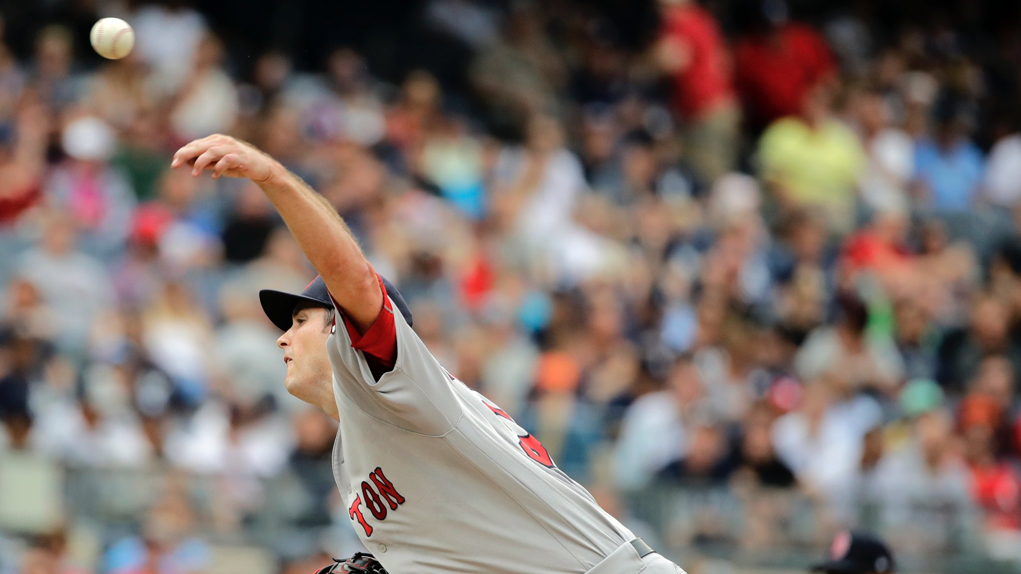 .@DrewPomeranz's Day:  6.2 IP, 7 H, 3 R, 2 BB, 5 SO �� https://t.co/muGCoqGU7s
