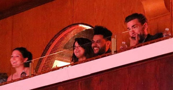 Selena Gomez and The Weeknd spent date night at L.A.'s Laugh Factory: