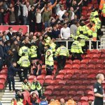 Kids as young as 10 injured and one police officer hospitalised during violent clashes at Middlesbrough vs Sheffield United