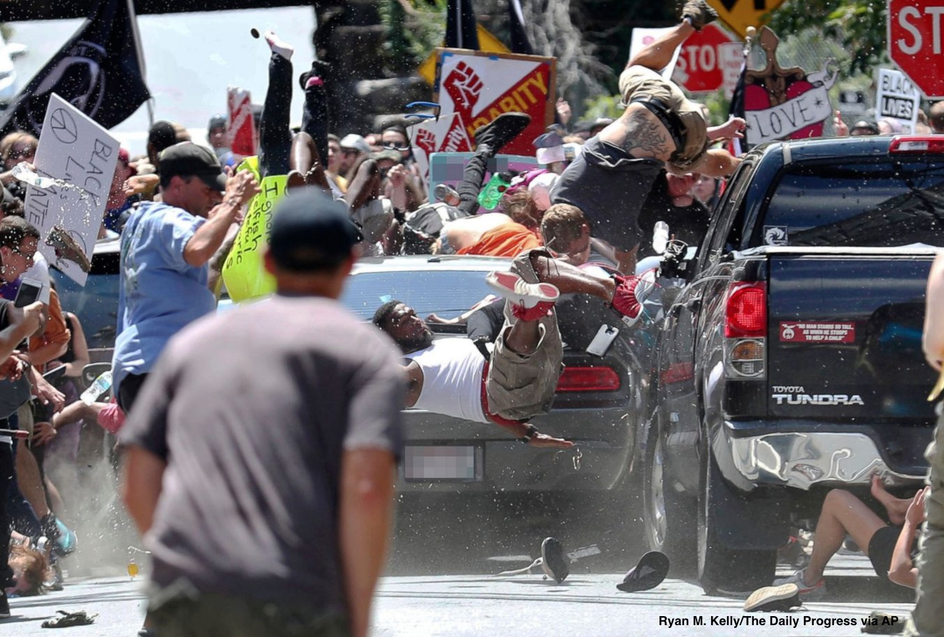 Horrifying images emerge from violent day in #Charlottesville. https://t.co/vXY37csI4G https://t.co/zxNP49D77g
