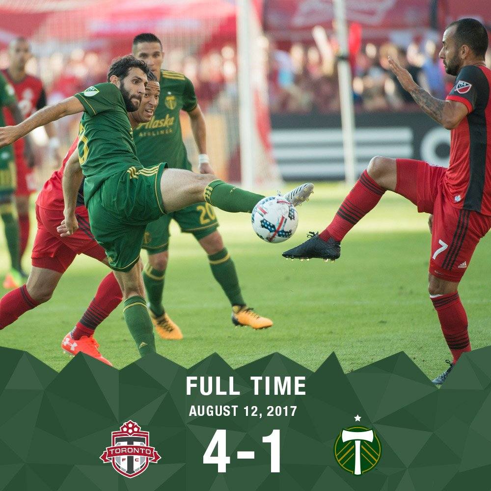 Full time at BMO Field. #RCTID #TORvPOR https://t.co/hFKhkq4kxg