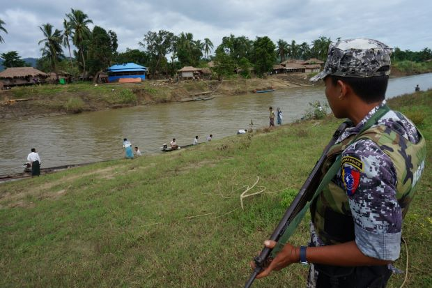 Myanmar also ramps up troops in violence-wracked state - ASEAN/East Asia