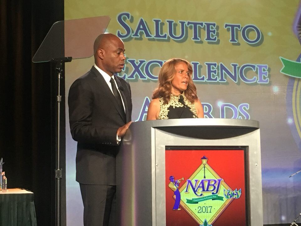 RT @NABJ: Your Master & Mistress of Ceremony this evening @KevinFrazier @SuzanneMalveaux #NABJSTE17 https://t.co/Ay1EaLtjqw