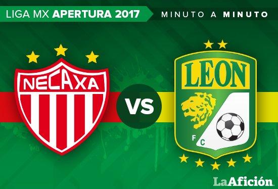 ¡Sigue nuestro MINUTO A MINUTO del partido @ClubNecaxa vs. @clubleonfc! (21:00 horas)  https://t.co/mcxY3JyVqQ https://t.co/ViyWAqU19h