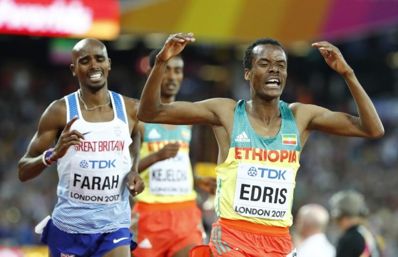 Edris ends Farah's invincibility in final race https://t.co/7oygAApxHL https://t.co/oxk6QTZOkZ