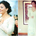 Aishwarya Rai Bachchan steals a million hearts in this white Manish Malhotra suit at IIFM