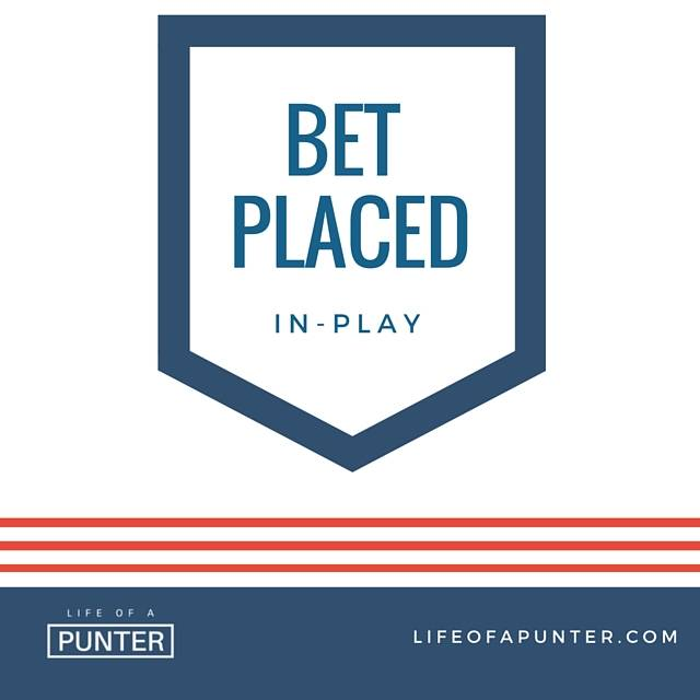 Inplay bet placed for LA Galaxy clean sheet NO at 1.50 odds #MLS https://t.co/6foTdUjurM