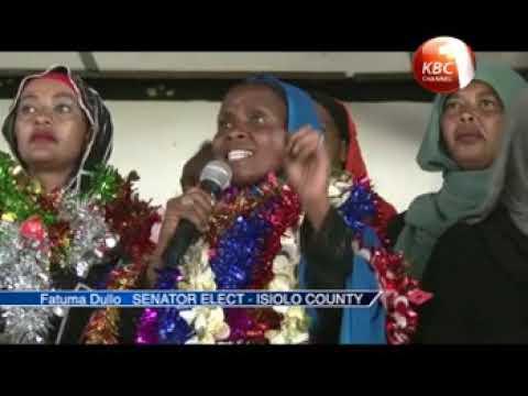 Fatuma Dullo declared Isiolo senator
