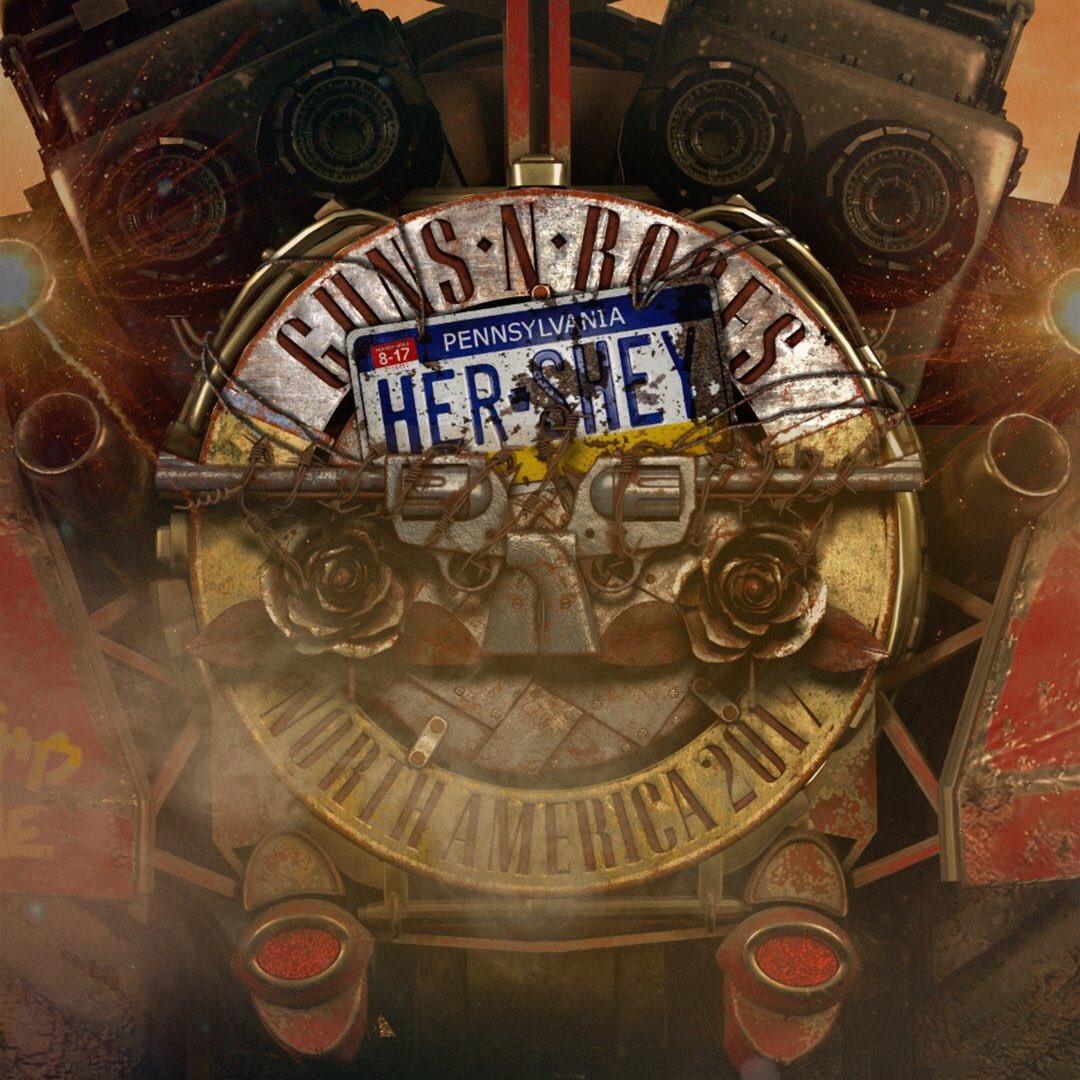 We're here Hershey... #GnFnR #NotInThisLifetime Tour 2017 https://t.co/R8emcwZ1PY https://t.co/uaw6xV8xdz