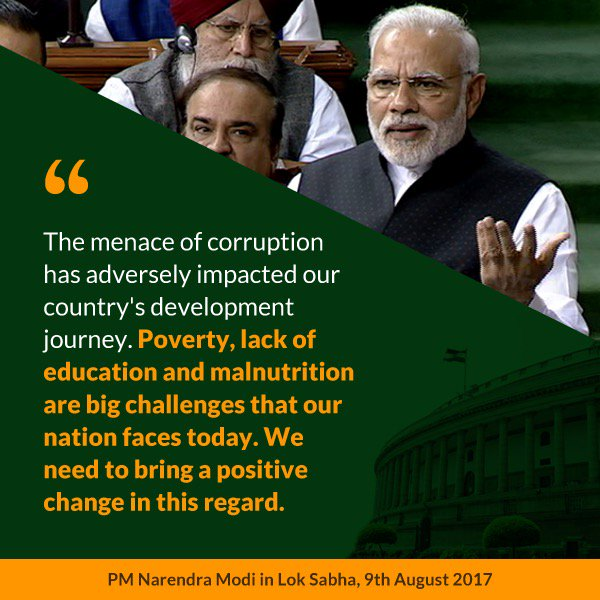 Ushering positive changes for a 'New India.' https://t.co/WZRNCoPHQD via NMApp https://t.co/VS6pFE3yJj
