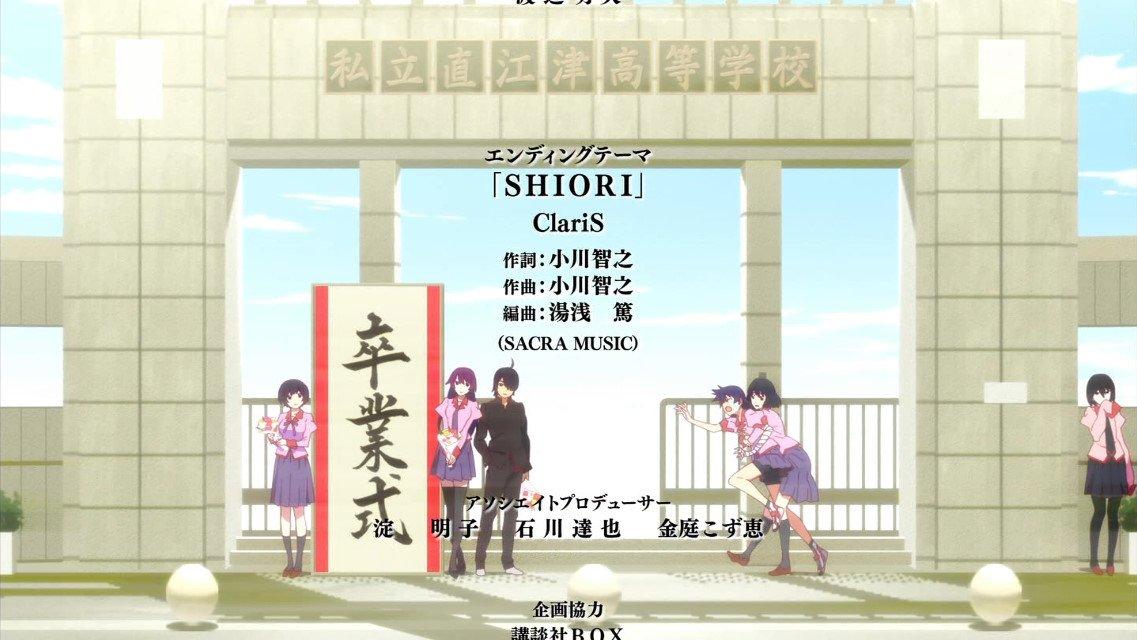 ED曲 #monogatari #tokyomx