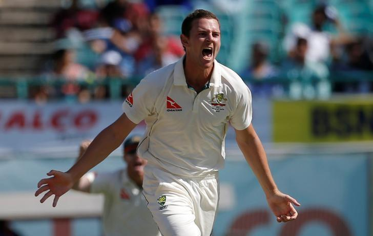 Cricket - Hazlewood ready to lead Australia attack in Bangladesh