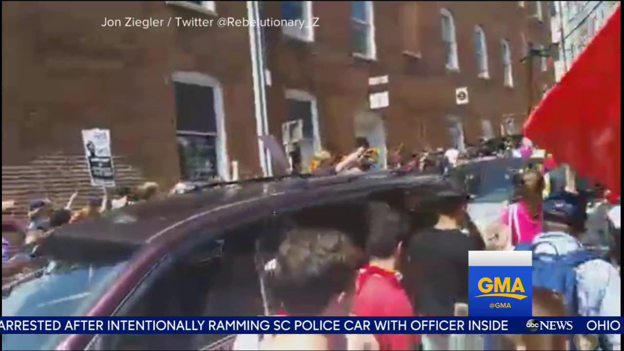 WATCH: Car plows into pedestrians; one woman killed, 19 people hurt: https://t.co/NGPH0Tg6lV @EvaPilgrim https://t.co/gtfLOsyALu