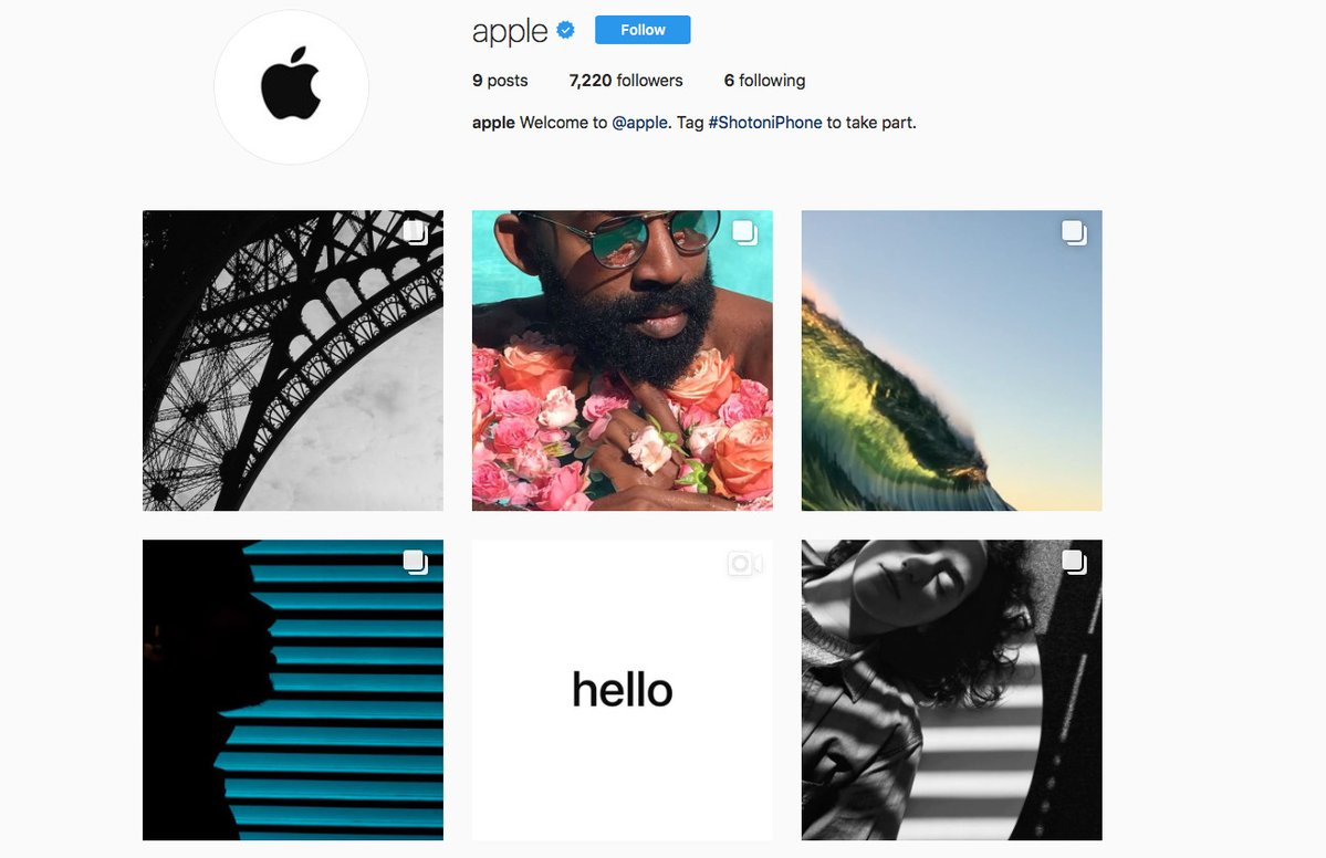 Apple launches official Instagram account to show off iPhone photographers'...