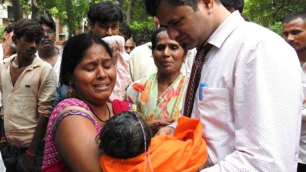 India hospital: 60 children die in Uttar Pradesh