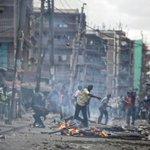 Many dead after violent protests in Kenya