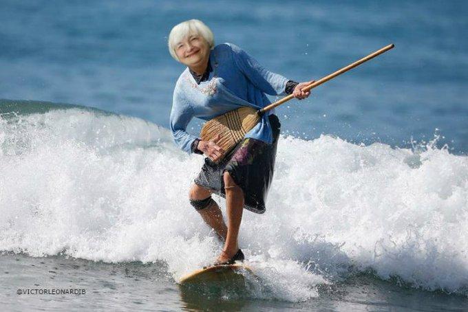 Happy 71st birthday to Janet Yellen