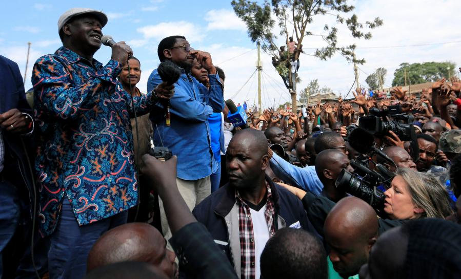 Kenyan opposition leader Odinga calls on supporters not to go to work https://t.co/FSg919O7tP https://t.co/AydPlUQBjS
