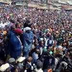 RAILA ODINGA tells NASA supporters not to report to work on MONDAY- will he give them FOOD?