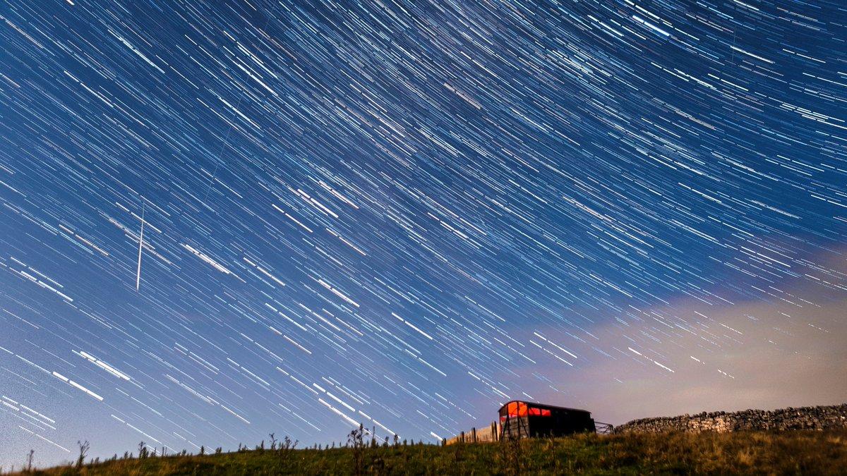 Perseid meteor showers light up skies overnight