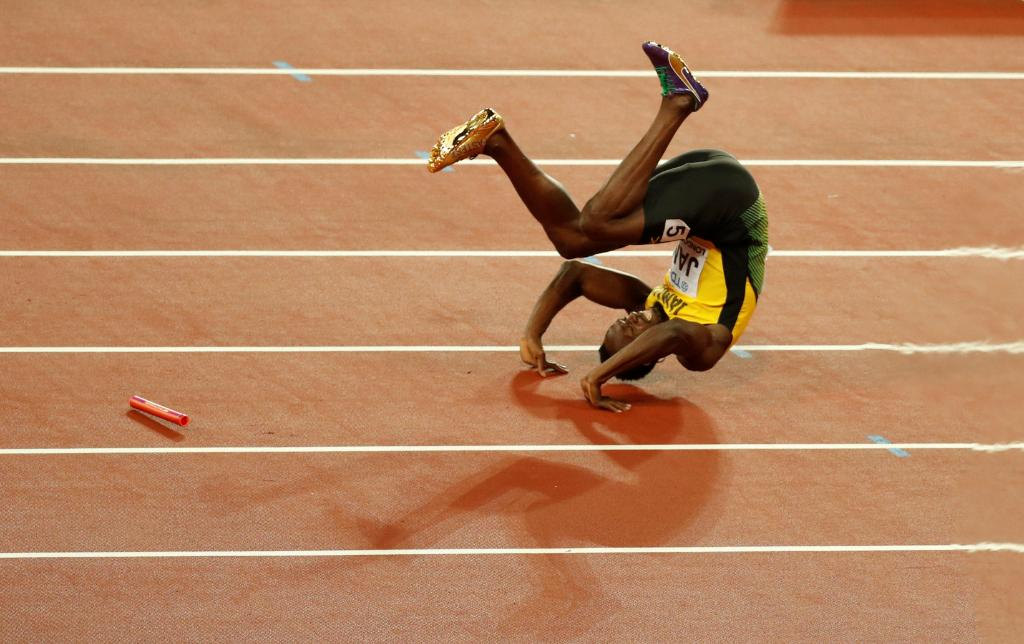 Usain Bolt ended his stellar career in excruciating pain https://t.co/m0BTYdGpIC https://t.co/sQQ8AodJ8i