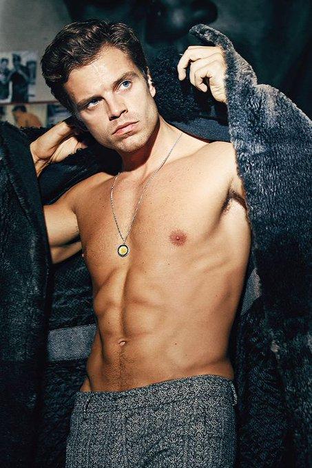 Happy birthday to my favorite Chris, Sebastian Stan!