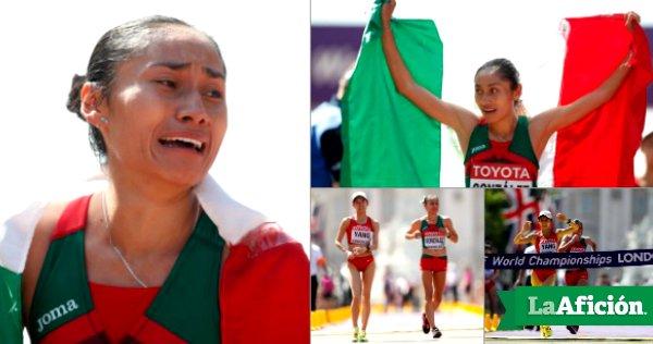 ���� ¡Lupita González repite plata! GANA en MARCHA en Mundial de #Londres ������ https://t.co/KAn4q3TsAA https://t.co/TksvqxBBFn