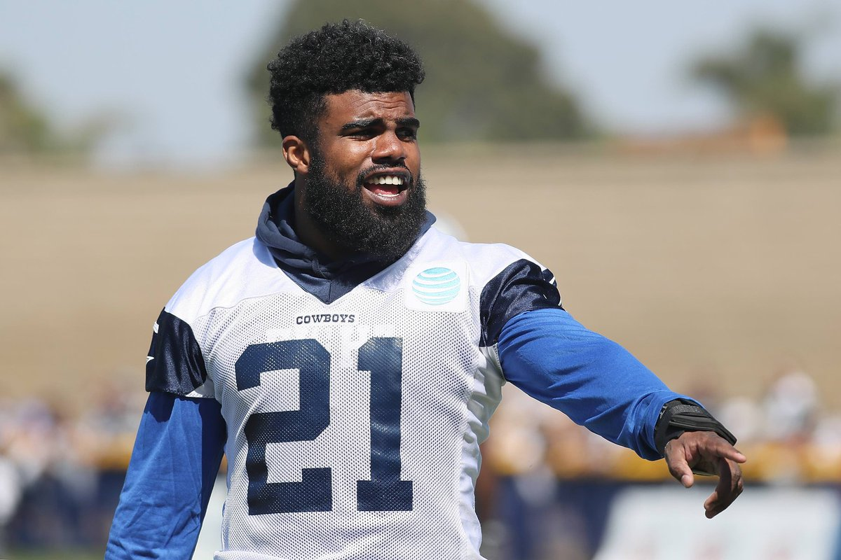 Ezekiel Elliott Reportedly Will Submit Appeal for 6-Game Suspension on Tuesday